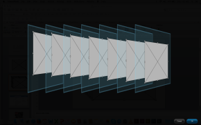 a layering of boundingboxes