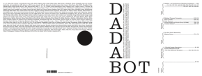 DADABOT. The role of algorithms in cultural production