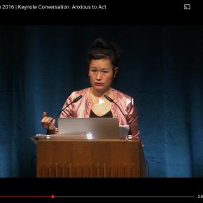 Transmediale Keynote conversation 2016: anxious toact